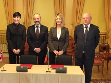 "Signing of the ""Programme Agreement"" of the Culture Programme"