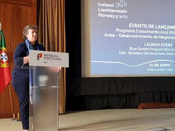 "Launch Event - ""Blue Growth"" Programme EEA-Grants 2014-2021 and the Call - Business, Development, Innovation and SMEs"