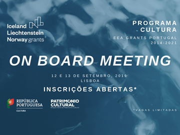 "Participa no ""On Board Meeting"""