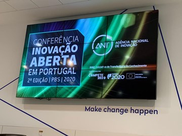 Environment Programme present at the Open Innovation Conference in Portugal
