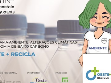Objectives of the Oeste + Recicla project