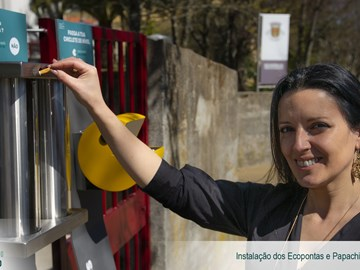 Municipality of Vila Real celebrates World Water Day with the presentation of structures for the collection of chewing gum and cigarette butts